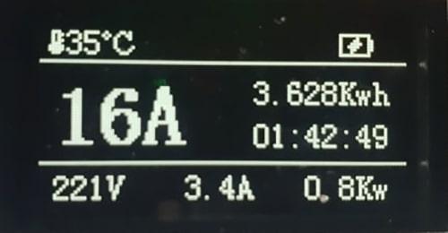 4-EV EVSE Type1 (max. 16A) EV kabel