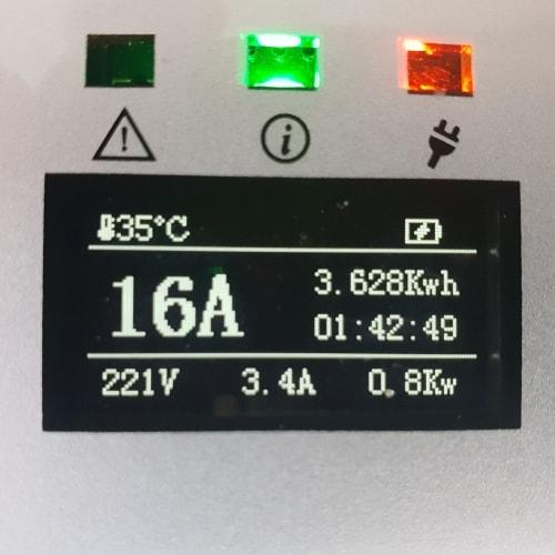 3-EV EVSE Type2 (max. 16A) EV kabel
