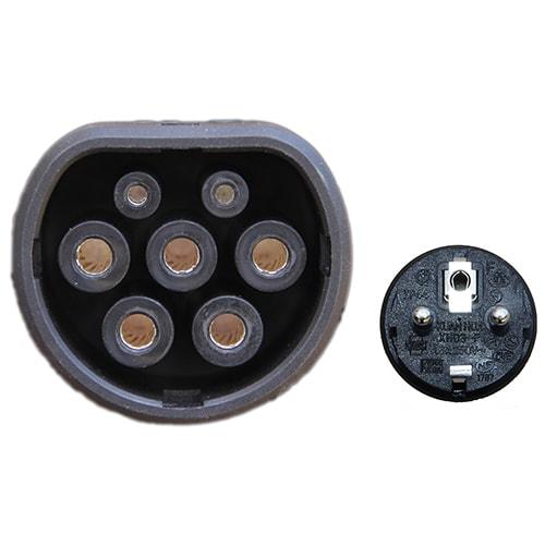 4-EV EVSE Type2 (max. 16A) EV kabel