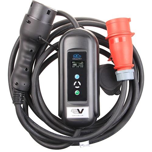 1-EV EVSE Type2 (3x16A) IP55 EV kabel