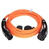 EV Type2 -> Type2 orange (3x32A) EV kabel