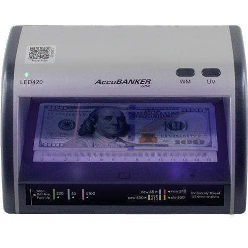 1-AccuBANKER LED420 kontrola novčanica