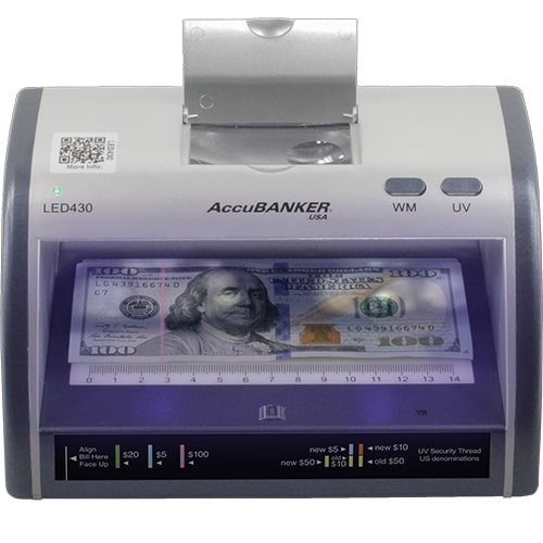 1-AccuBANKER LED430 kontrola novčanica