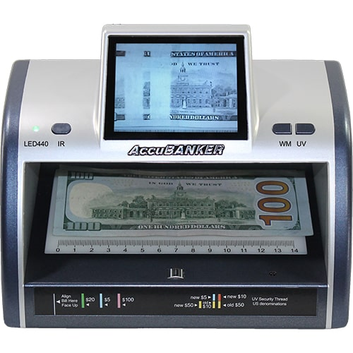 1-AccuBANKER LED440 kontrola novčanica