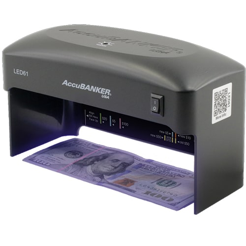 1-AccuBANKER LED61 kontrola novčanica
